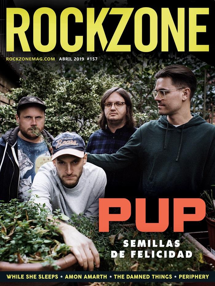 Rockzone Abril 2019 RockZone-Portada-157-abril-2019